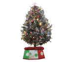 切抜きしたクリスマスツリーの画像